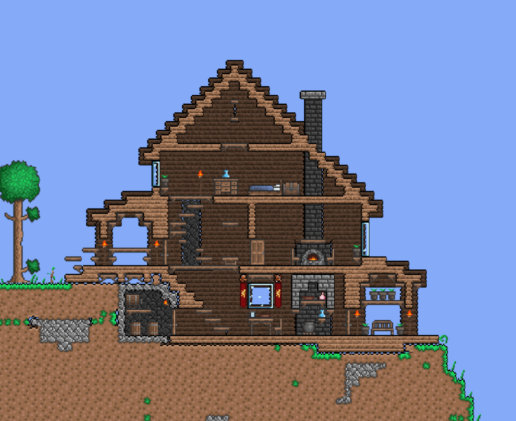 Traditional House Terraria Pinterest Traditional House
