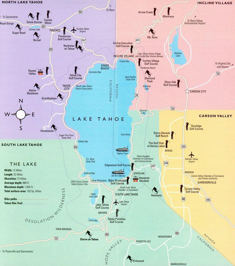 Map Nevada And Airports California Northern
