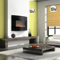 Modern Gas Wall Fireplaces Design Ideas With Living Room ...