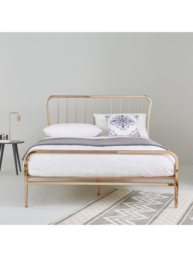 Ideal Home Webster Metal Double Bed Frame