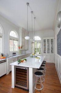 narrow kitchen island with seating   Kitchen Island Ideas ...