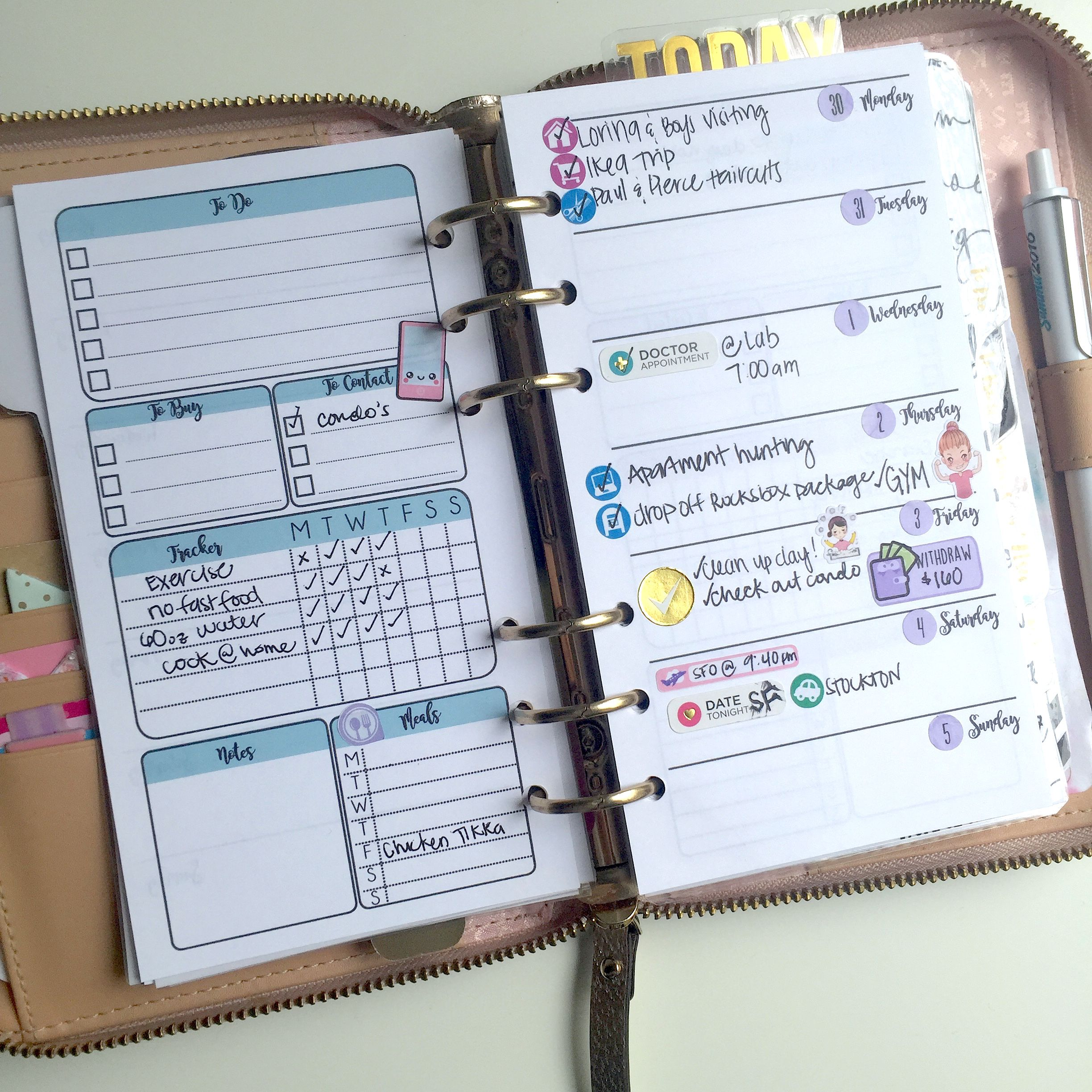 Free Planner Inserts
