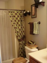 Green And Brown Bathroom Ideas   ...chocolate brown and ...