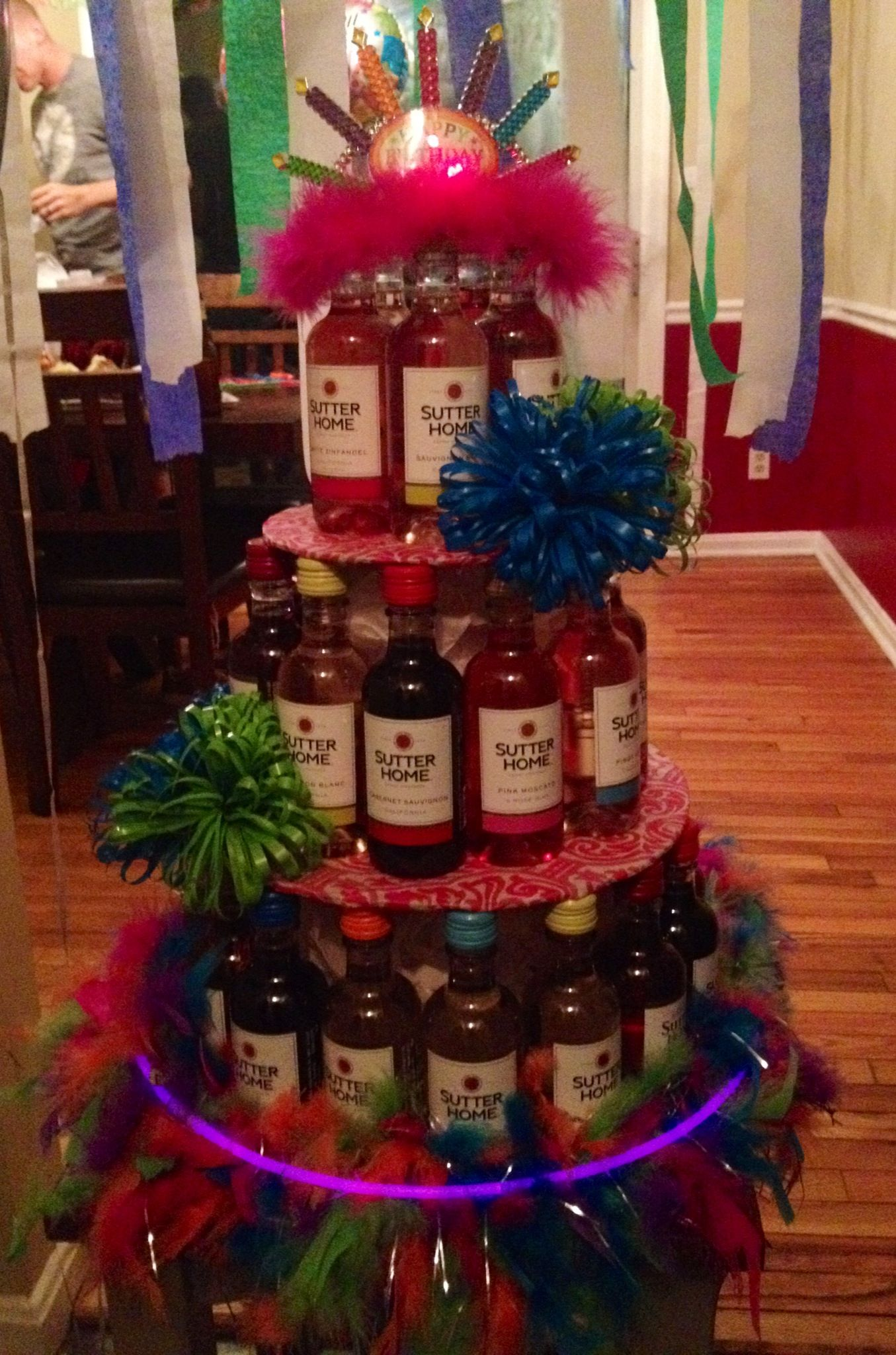 Wine Cake I Make For Tricia S Birthday Me Getting