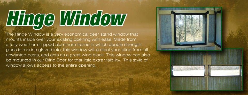 Deer Blind Windows Ideas Part - 46: Best 25 Deer Stand Windows Ideas On Pinterest Tree House