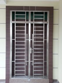 Stainless Steel Grill Window Design