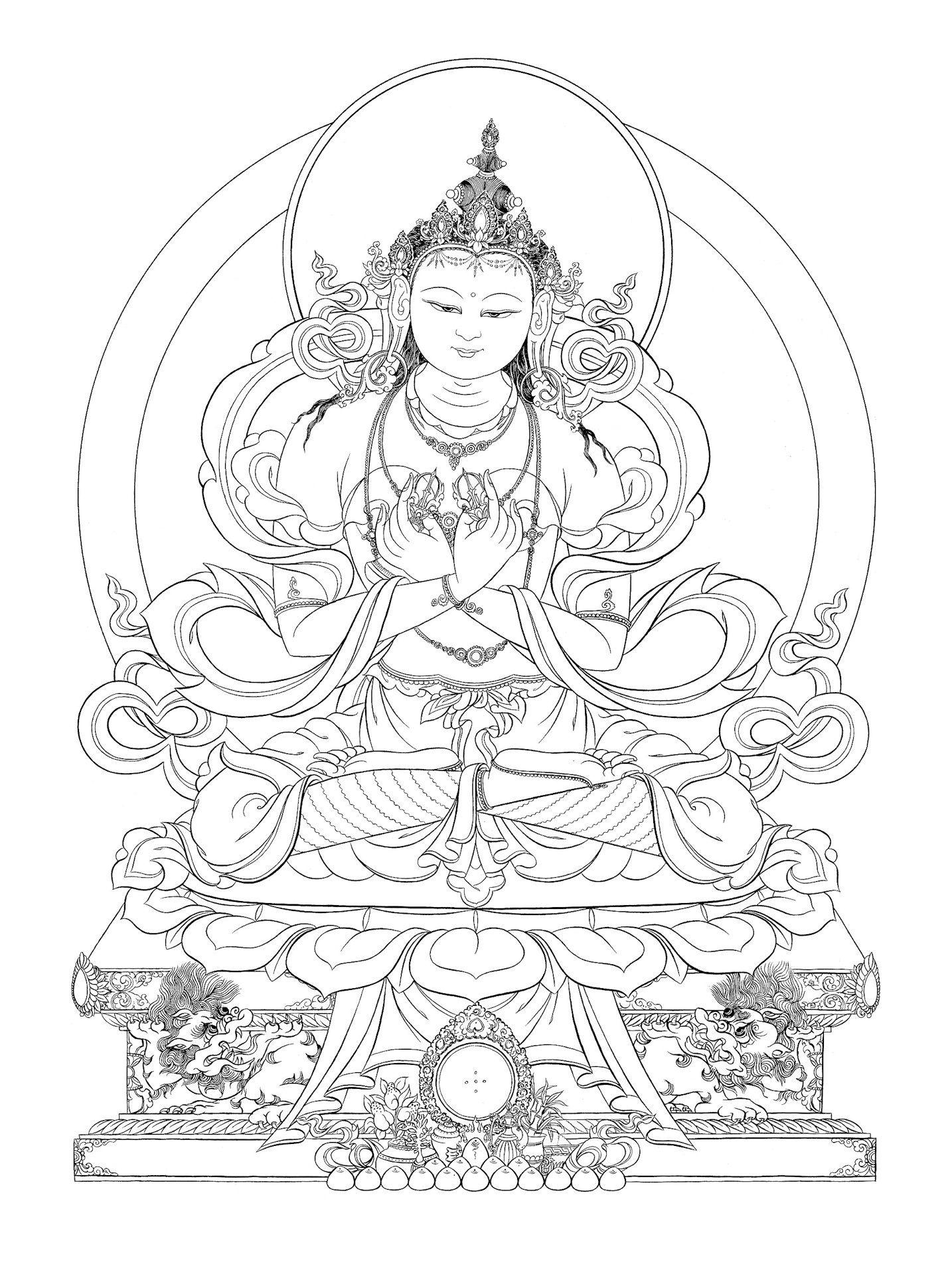 Dorje Chang Varjadhara Gyemanttarto