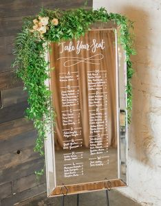 In addition to stationery we also offer custom wedding signs and paper decor coordinate with your fcb ecfcd ad   fc dffac  pinterest rh