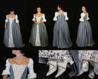 Outlander wedding dress by Celefindel on DeviantArt ...