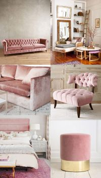 Home Decor Trend / Velvet | cocorosa | Living & Dining ...