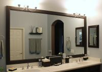 DIY Bathroom mirror frame | Bathroom ideas | Pinterest ...