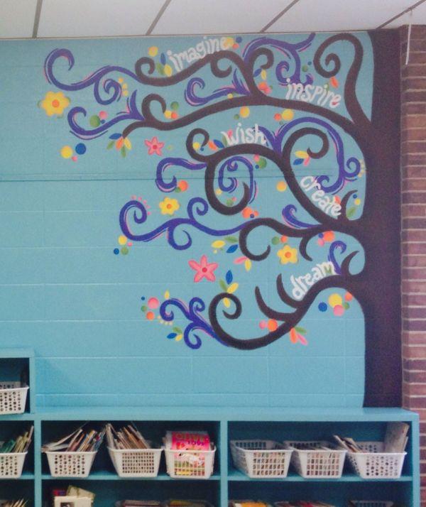 Classroom Tree Mural