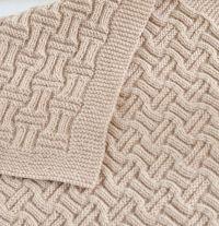 Easy Baby Blanket Knitting Patterns | Knitting patterns ...
