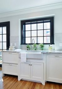 3 Reasons To Paint Window Trim Black | Clarks, Window and ...