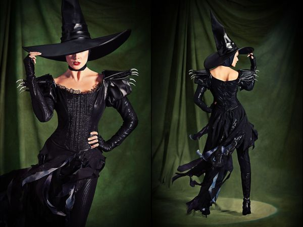 Wicked Witch Of West And Glinda Good Wizard