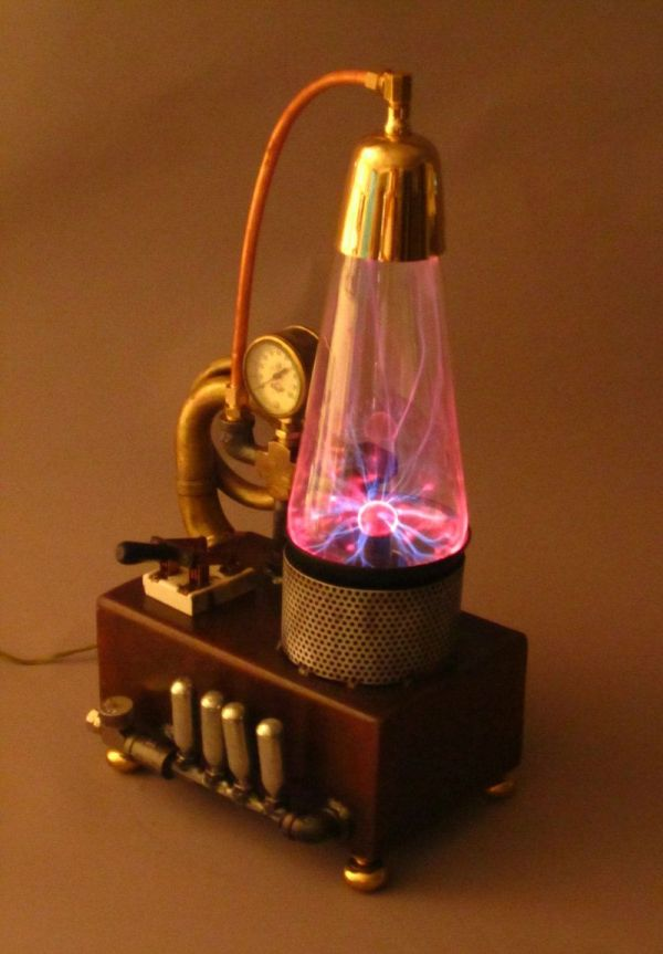 Steampunk Plasma Aether Charging System. Of