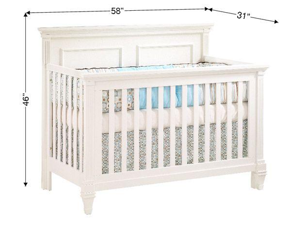 Baby Crib Dimensions Google Search