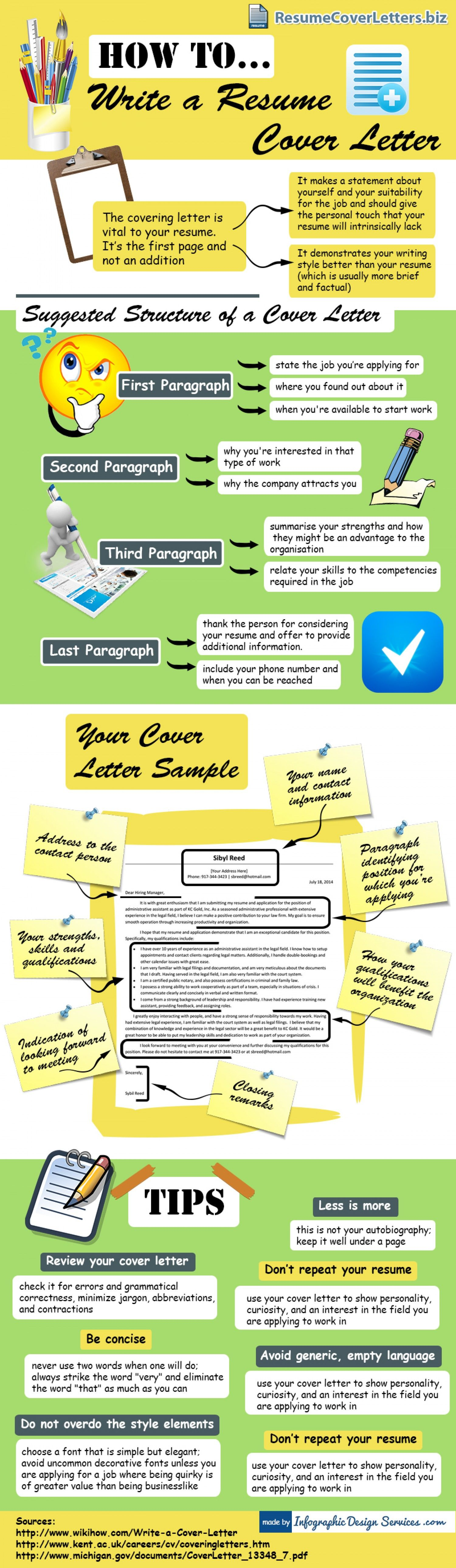 Tips For A Perfect Resume Resume Cover Letter Writing Tips Infographic Useful
