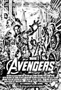 Free coloring page coloring-movie-avengers. Coloring ...