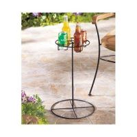 Outdoor Drink Holder Patio Furniture Beverage Stand Table ...