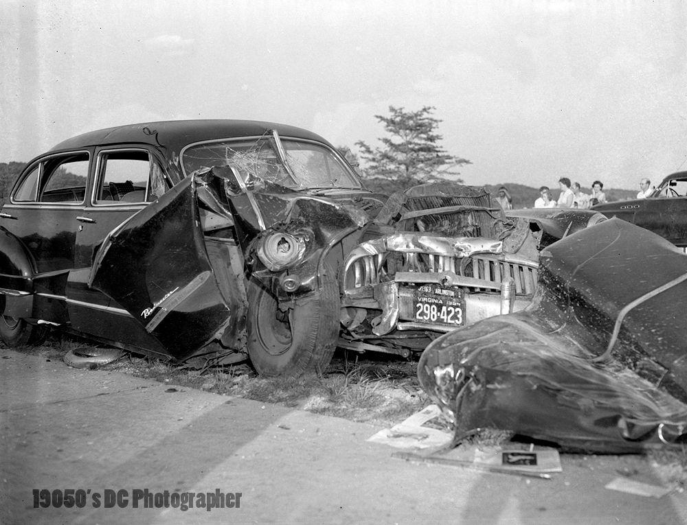 Vintage Fatal Car Accidents