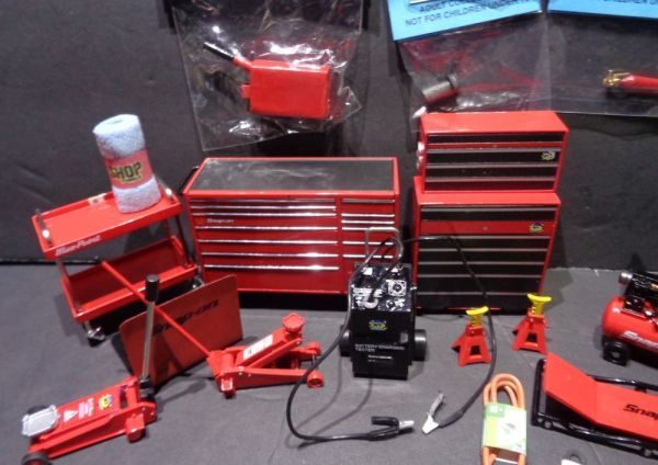 Dollhouse Miniature Auto Repair Garage Tools Lot