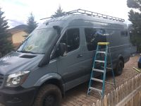 Mercedes 144 Sprinter Van Roof Racks and ladders ...