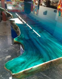 Color Epoxy Resin For Wood - Year of Clean Water
