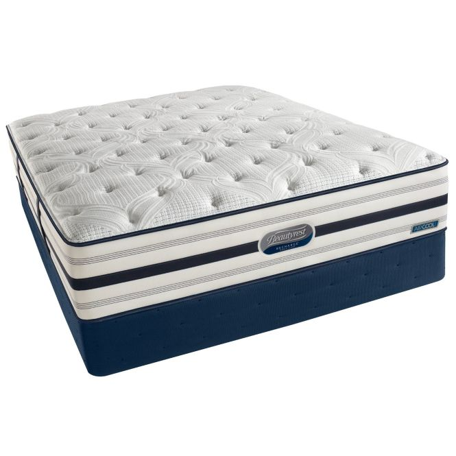 Beautyrest Recharge World Class Sea Glen Plush King Size Mattress Set Ping Great Deals On Simmons Mattresses
