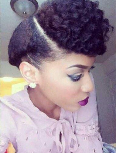 Black Natural Updo Hairstyles