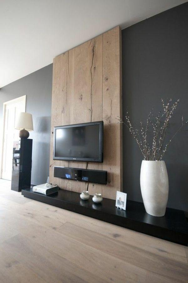 Die besten 25 Holzwand wohnzimmer Ideen auf Pinterest