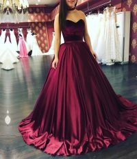 burgundy ball gowns,burgundy wedding dresses,sweetheart ...