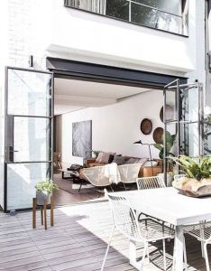 Love the inside outside patio also dream home pinterest patios rh