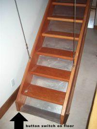 retractable attic staircase. | attic. | Pinterest | Attic ...