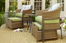 Patio Conversation Set Perfect Small Spaces