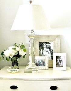 Classic  casual home tips to style your bedside table also bedrooms rh pinterest