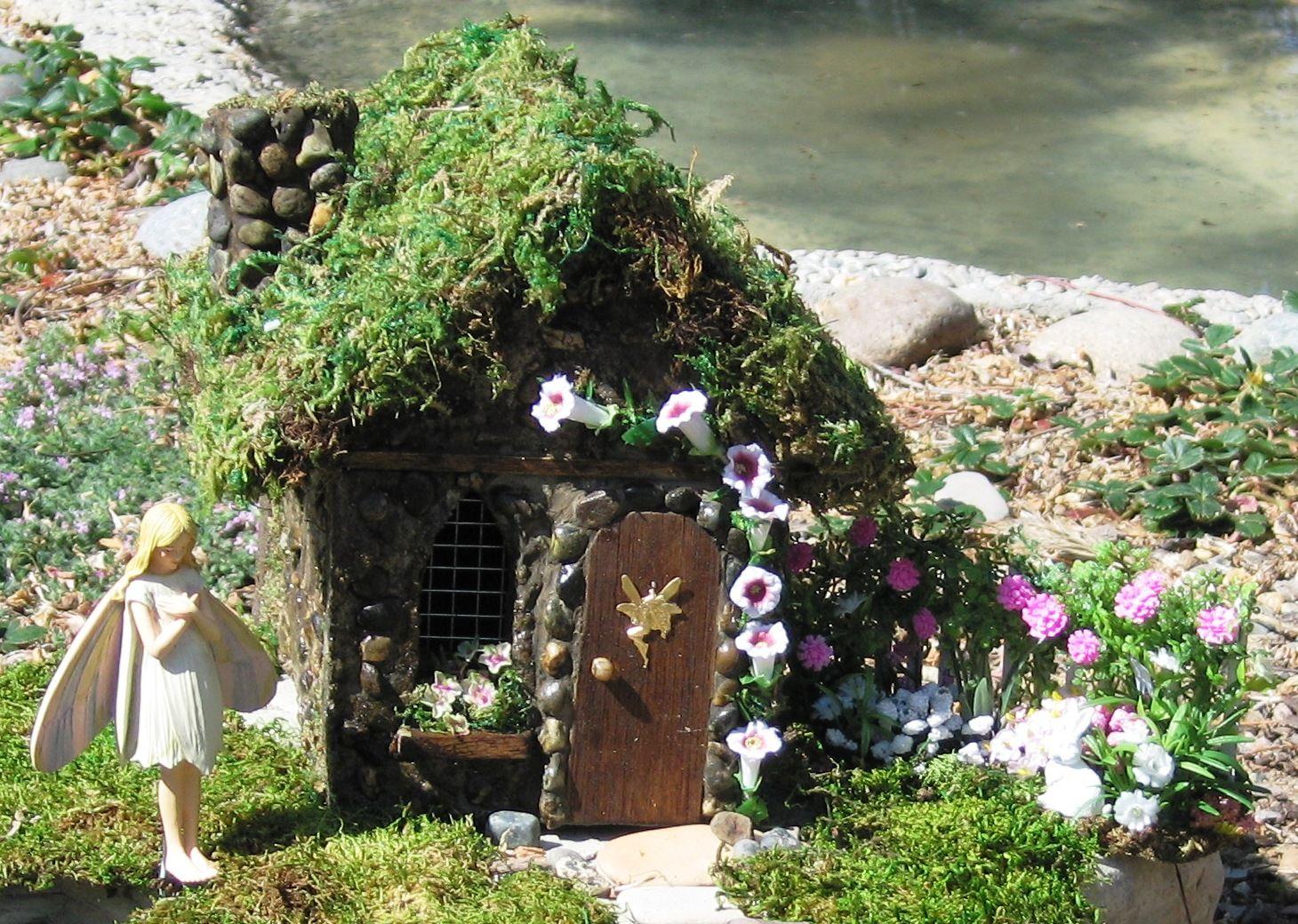 Fairy Houses For Garden Fairy Gardens Walnuts N Pears LLC Ready