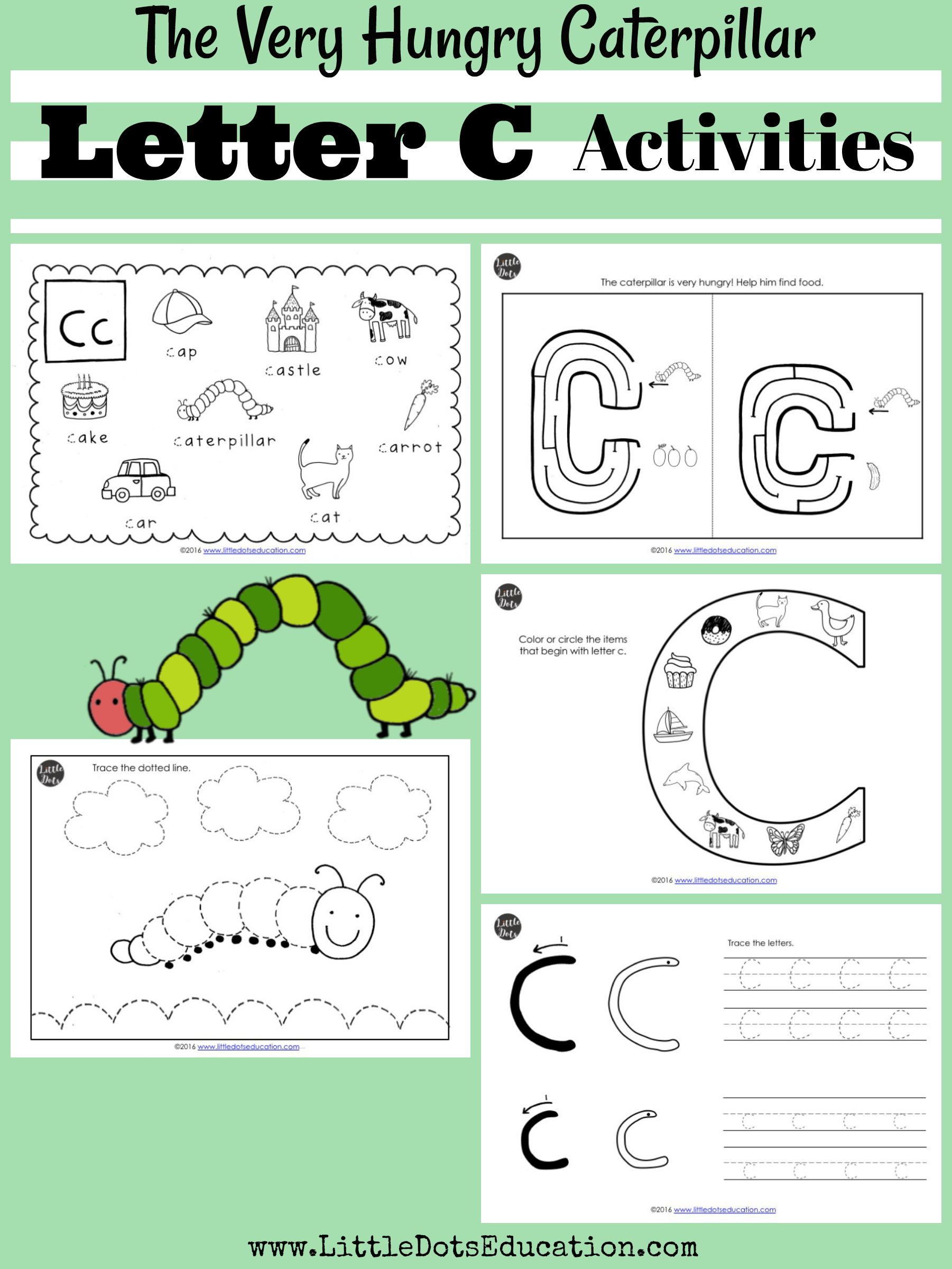 Download Letter C Activities And Worksheets For Preschool