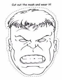 Dibujos Para Colorear De Hulk Para Imprimir