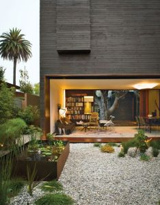 Outside inside exterior pinterest venice california indoor outdoor living and modern architecture also rh