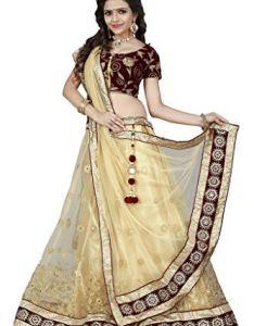 Arsh impex designer net jari work lehenga choli with velv http also buy latest orange nazneen embroidered saree by rh pinterest