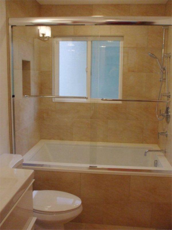 European Soaking Tub & Shower Combination