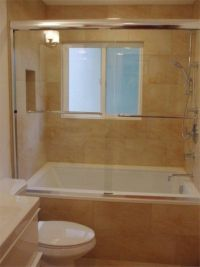 European Soaking Tub & Shower Combination