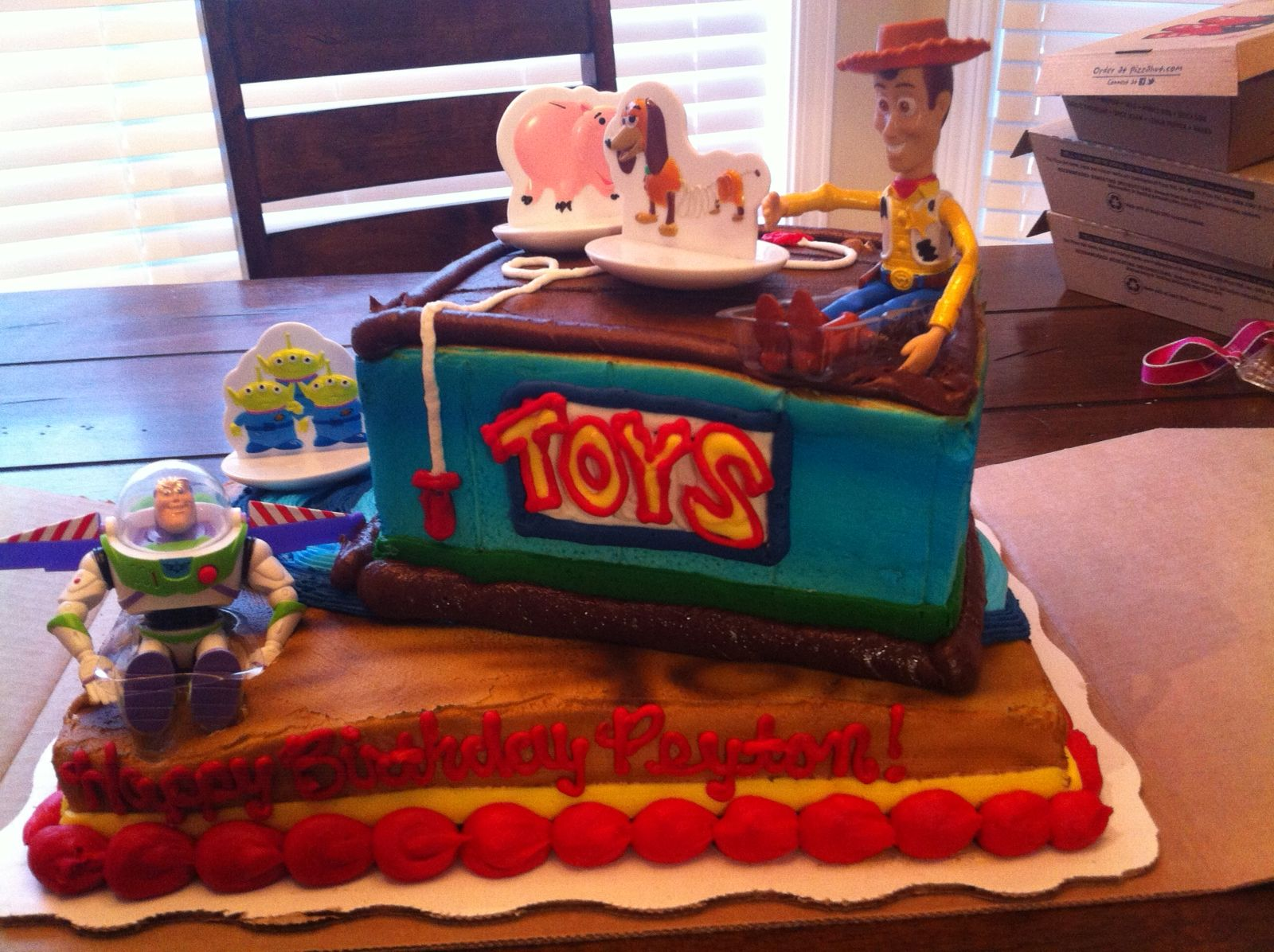 Peyton S Toy Story Birthday Cake Walmart