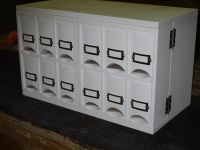 Small Countertop Tea Storage Cabinet by keminerwoodworking ...