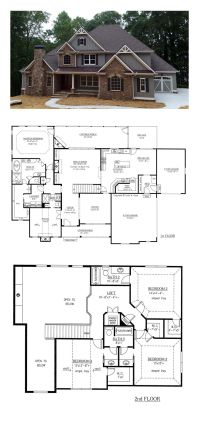 French Country House Plan 50263 | Total Living Area: 3290 ...
