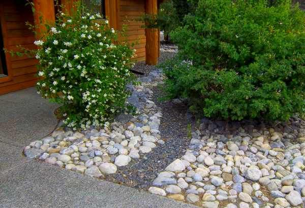 Front Yard River Rock Landscaping Ideas Are Easy Ways To Eliminate