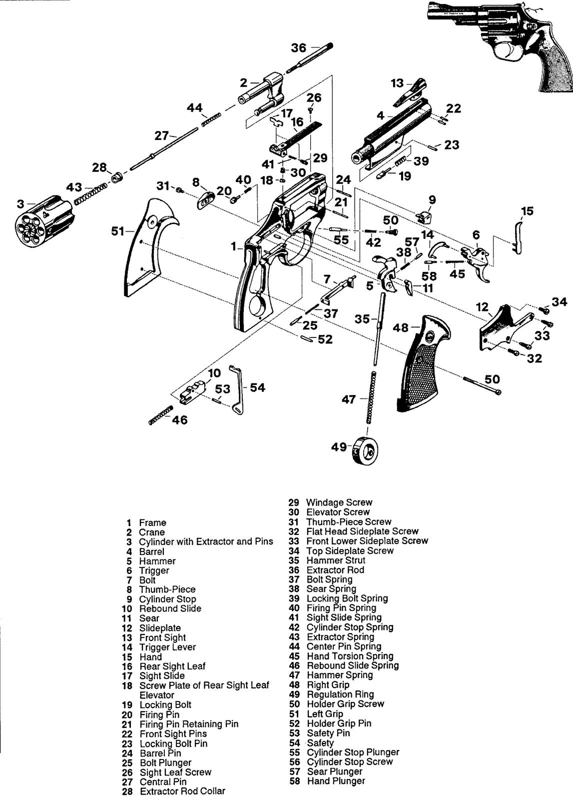 Revolver Astra 960