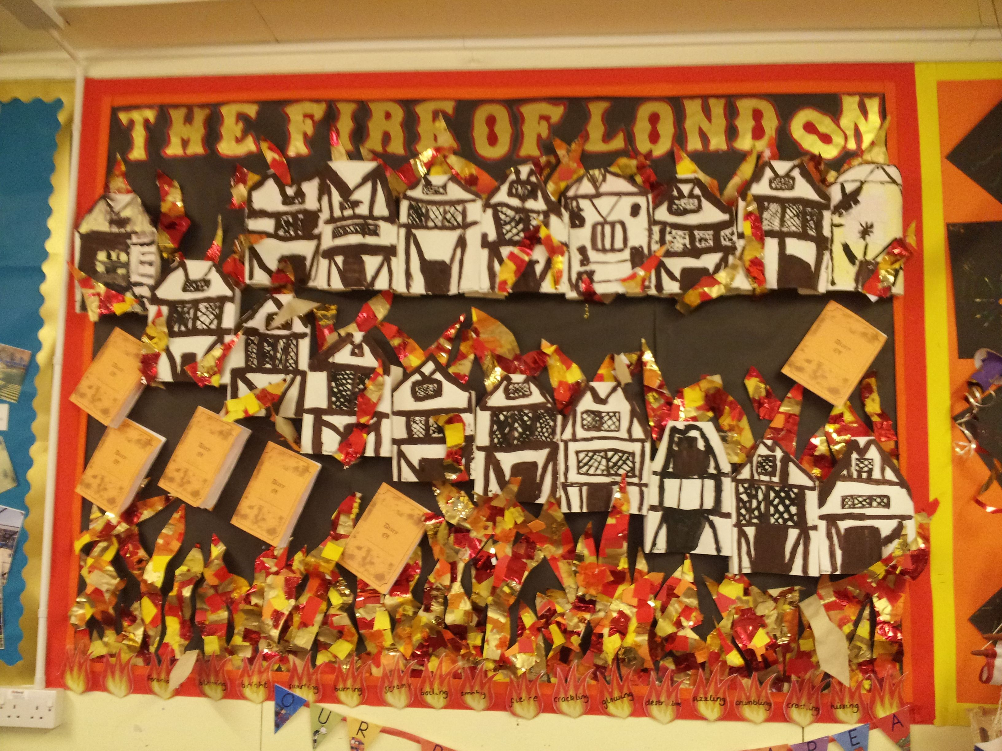 Great Fire Of London Display