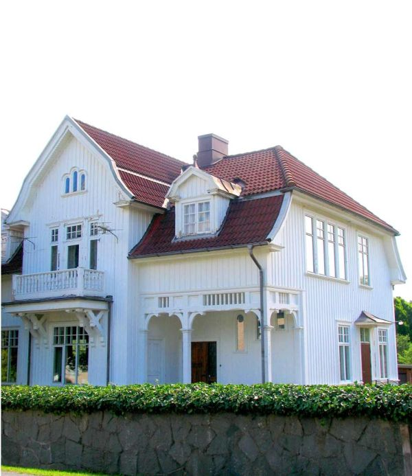 Swedish Beautiful White House Http